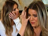 'It's not the life I want my sister to live': Kim Kardashian stages intervention to help sister Khloé accept her marriage is over in KUWTK mid-season finale
