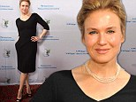 Ren�e Zellweger, 44, shows off impressive curves at first red carpet appearance in FIVE MONTHS