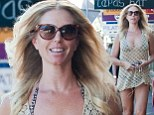 Looking good! Annalise Braakensiek showcased her incredibly svelte figure in a sheer tan mini dress while out and about in Bondi