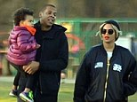 Carter family outing: Beyonc� and husband Jay Z took their gorgeous daughter Blue Ivy on a fun outing to the Phoenix Park Visitor Centre Playground in Dublin, Ireland on Monday