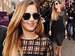 New job, new hair! Cheryl Cole unveils newly-dyed lighter locks at X Factor press conference after confirming her return