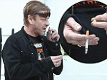 There goes the crown: Sean Bean suffered an unfortunate mishap when one of his teeth fell out during a trip to the dentist
