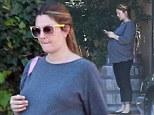 Drew Barrymore heads out for frozen yoghurt