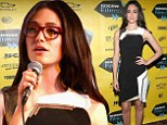 Shameless show stealer! A bespectacled Emmy Rossum proves smart is sexy as she leads the glamour pack at SXSW