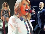 The new queen of pop! Taylor Swift beats Beyonce and Justin Timberlake to top list of music's biggest money makers