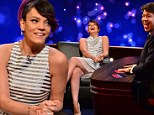 Hard Out Here: Outspoken singer Lily Allen reveals she's 'more popular outside of UK' on Michael McIntyre's new chat show