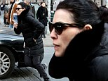 The Good Looking Wife! Julianna Margulies, 47, manages to appear chic in all-black while dashing through NYC... even though she has no makeup on