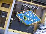 Defiant: The Easy Going coffee shop has been shut for months as its owner refuses to adhere to the rule about selling only to Dutch residents