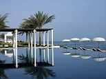 Go east: Muscat is home to glitzy hotels like The Chedi