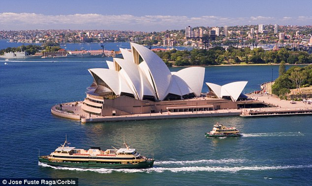 Down Under: Sydney was one of the top five most expensive cities in the world, with Melbourne taking joint sixth place