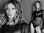 No wonder Jen Aniston wants her body! Gisele Bundchen leaves little to the imagination in a mesh bodysuit and thong