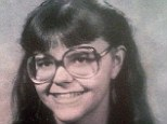 Young and carefree: This high school photograph shows a happy Pia Davida Farrenkopf