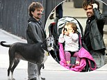 That's a Stark look! Game Of Thrones star Peter Dinklage steps out with family and his very own direwolf