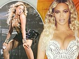 When in Ireland! Beyonce twerks on stage in Dublin before heading out for a Guinness