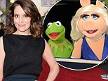 Tina Fey keeps it simple in pencil skirt as she lets Kermit and Miss Piggy hog the spotlight at Muppets Most Wanted premiere