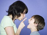 Attention: Sarah Vine says the problems lie not with the children but with the paucity of parenting. File picture