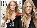 """Lara Stone graces Harper¿s BAZAAR¿s April cover, on newsstands March 25, and in the interview, the supermodel opens up about her career, challenges, marriage, and more. \n\nPlease see below for a few quotes, and go to www.harpersbazaar.com/larastone for the full interview and more photos. If any info is used, please link back and include the cover. \n\nPhoto credit: Daniel Jackson for Harper¿s BAZAAR. \n\nOn her career, Stone, who had been scouted in Paris when she was 14 and got her big break at 22, says: """"When I stop and think about it¿which I don't do very often¿I think, This doesn't make any sense,"""" she says. """"I look around and see thousands of girls who could have had this career."""" \n\nStone's rise hasn't been without hurdles. In 2009, she checked herself into rehab after the job's many solitary moments, constant travel, and endless swirl of parties landed her in a position where she was never lacking for a cocktail. She remembers keeping a bottle of vodka stashed away in her hand"""