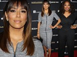 Simple Vs. Sexy: Eva Longoria, right, outshined Oprah, left, at the  PAYCHECK TO PAYCHECK: THE LIFE & TIMES OF KATRINA GILBERT screening in Hollywood on Tuesday