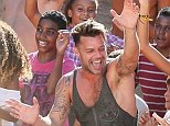 Feels like home! The Voice Australia's Ricky Martin parties in Brazil for World Cup promo videos
