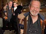 A room full of support! Monty Python's Terry Gilliam attends screening of his new flick The Zero Theorem... and Paloma Faith proves to be a big fan