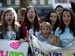Hero worship: One Direction fans