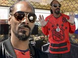 In the Dogg house! Snoop Lion shows off pop up home he designed for music festival