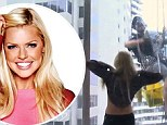 Sophie Monk flashes
