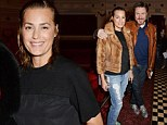 All She Wants Is... the sleek look! Yasmin Le Bon steps out with slicked back hair and fur jacket for Winter screening with husband Simon
