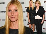 Who'd want to stand next to Gwyneth? Super toned Paltrow makes even slim Chelsea Handler look bulky at L.A. event