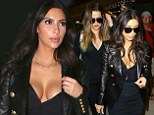 Miami Nice! Kim Kardashian heads out to dinner with BFF in plunging top... as the family settle into their Florida digs