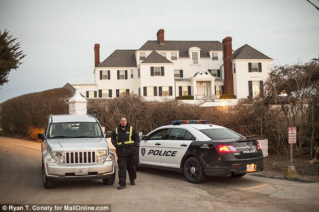 Guard: Construction outside a property owned by Taylor Swift's is getting attention from locals of Westerley Rhode Island for changes to the shoreline at a public beach where many swim, surf and fish