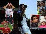 Bad loser: Liverpool striker Luis Suarez admits he makes his daughter cry by beating her at games they play at home