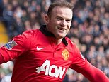 Rivals: Wayne Rooney admits it's difficult to watch Liverpool and Manchester City battle for the Premier League