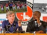 Feeder club: Roland Duchatelet (left) is more concerned about Standard Liege than proud Charlton