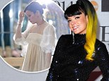 Oops: Lily Allen has lost her £200,000 Chanel Couture wedding dress