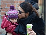 Mommy's here! Bethenny Frankel planted a kiss on the side of three-year-old Bryn Hoppy's head as she picked her up from school in New York City on Thursday