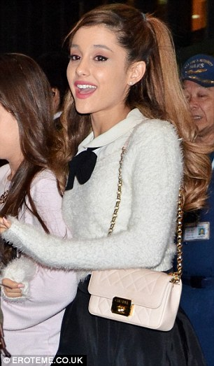 Ready to see in 2014? Ariana will see in New Year in Japan, where she is promoting her new album