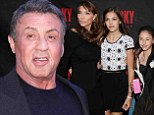 Sylvester Stallone turns opening night of Rocky The Musical into a family affair with his leading ladies