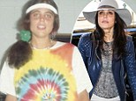 What a transformation! Bethenny Frankel shares embarrassing '80s photo of herself in tie-dye shirt and a scrunchie