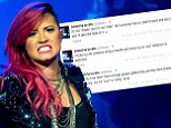 Demi Lovato accuses Lady Gaga of 'glamorising eating disorders' after singer's on-stage vomiting stunt