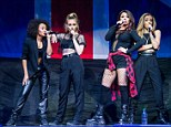 On Tour: Little Mix  perform in concert at The Palace of Auburn Hills in Auburn Hills, Michigan