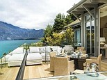 Stunning views: The Duke and Duchess of Cambridge will enjoy a night's stay at an exclusive resort in New Zealand as part of their three-week tour of the Southern Hemisphere, which starts next month