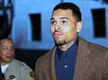Chris Brown is arrested after being kicked out of court-ordered rehab for violating 'internal rules'