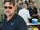 Russell Crowe 'upsets local food vendors in Turkey after turning up with his own catering truck' on set of his new movie The Water Diviner