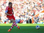 Rickie Lambert increases Southampton's lead in the second half