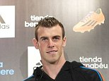 Team-mate: Real Madrid's Gareth Bale thinks that Cristiano Ronaldo is the best player in the world