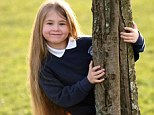 Sophie Fieldhouse has a rare disease and the treatment she receives has the side effect of making her hair grow