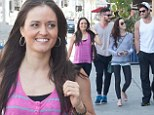 Double the fun! Danica McKellar grabs lunch with Val Chmerkovskiy after DWTS rehearsal...and Meryl and Maks tag along
