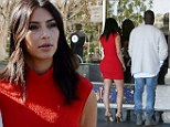 Kim Kardashian and Kanye West go on romantic movie date... as they demand wedding guests 'sign confidentiality agreements and have phones confiscated'