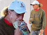 That won't stop the gossip! Bruce Jenner steps out with his long hair in a jauntily feminine ponytail